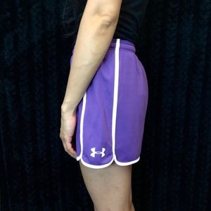 💎 Under Armour purple workout shorts